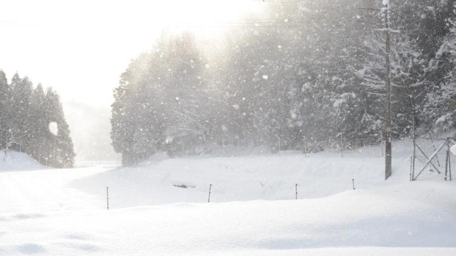 丹波で雪に囲まれた数日、人生を変えるエネルギー源に改めて思い至った話。