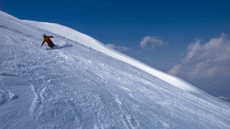 私、菊池のスキーレベルが、一向に向上しないのは、スキル習得が進まないから