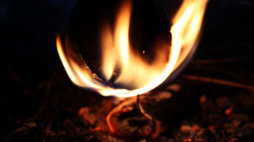 薪ストーブの火種を見ながら思う、信念を強くするために